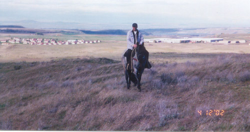 Hoffmann Ranch Branding, 2003 - Daryl On His Own