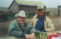Hoffmann Ranch Branding, 2003 - Curtis Hoffmann and Joe Thomas
